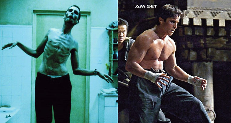 Christian Bale - The Machinist, Batman & American Hustle