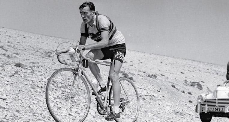 1955 - Louison Bobet sur le Mont Ventoux