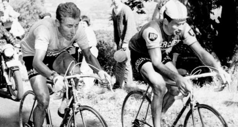 1964 - Duel Anquetil et Poulidor au Puy de Dôme