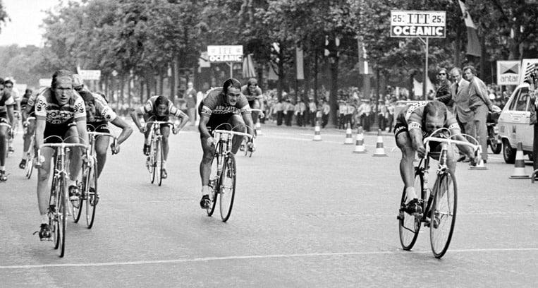 1975 - La première arrivée des Champs-Élysées