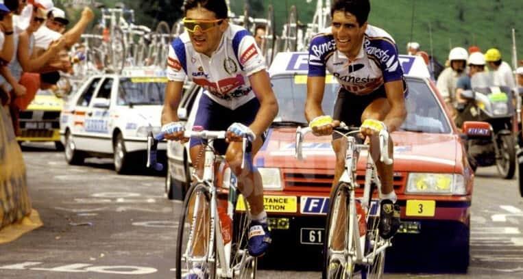 1990 - Claudio Chiappucci vole presque la victoire