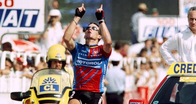 1995 - Armstrong rend hommage à son coéquipier décédé