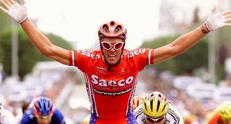 1999 - Cipollini remporte quatre étapes d'affilées