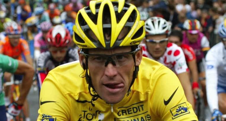 2003 - Armstrong va faire du cross-country