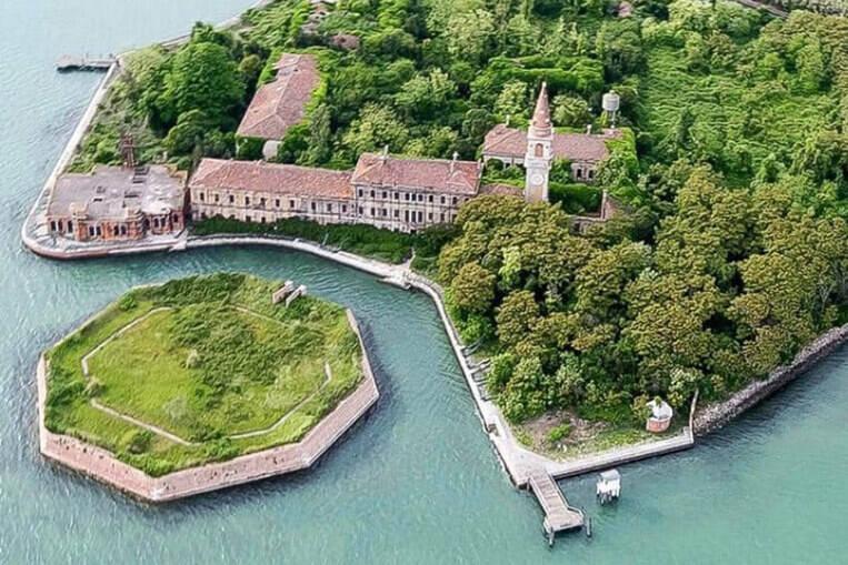 île de Poveglia: Venise, Italie
