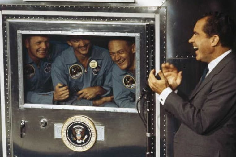 L'équipage a été mis en quarantaine à son retour sur Terre