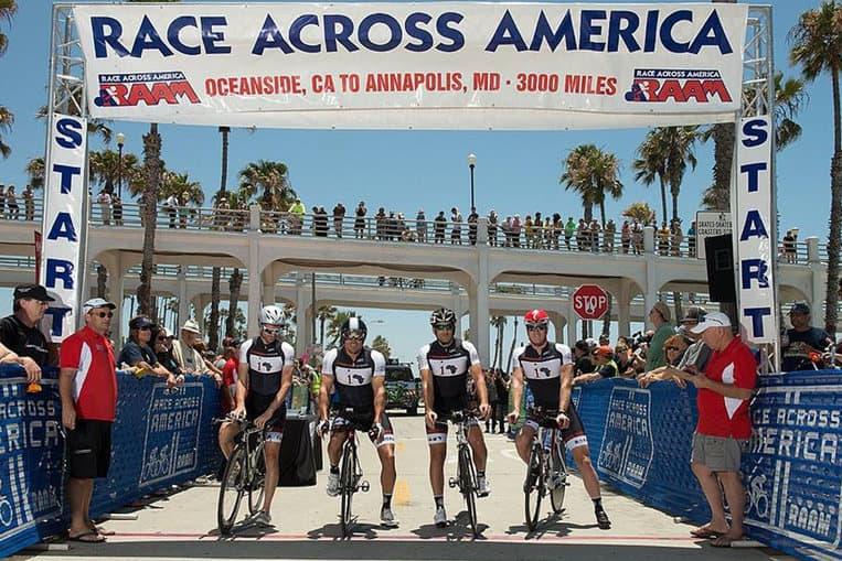 Les scientifiques ont trouvé un groupe à étudier dans la course Race Across the USA