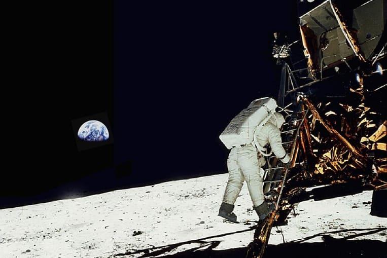 Pourquoi ne voit-on pas d'étoiles depuis la lune ?
