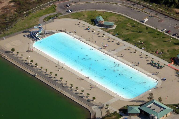 Hansen Dam Recreation Center, Californie