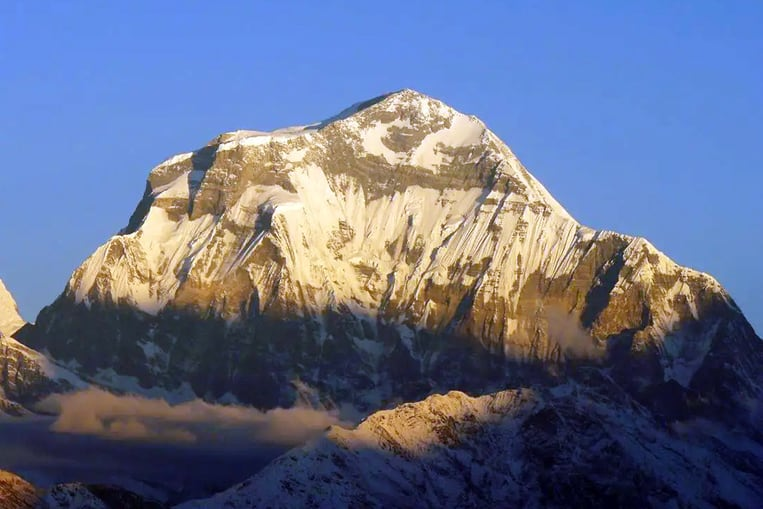 Dhaulagiri, Népal - 8167 mètres