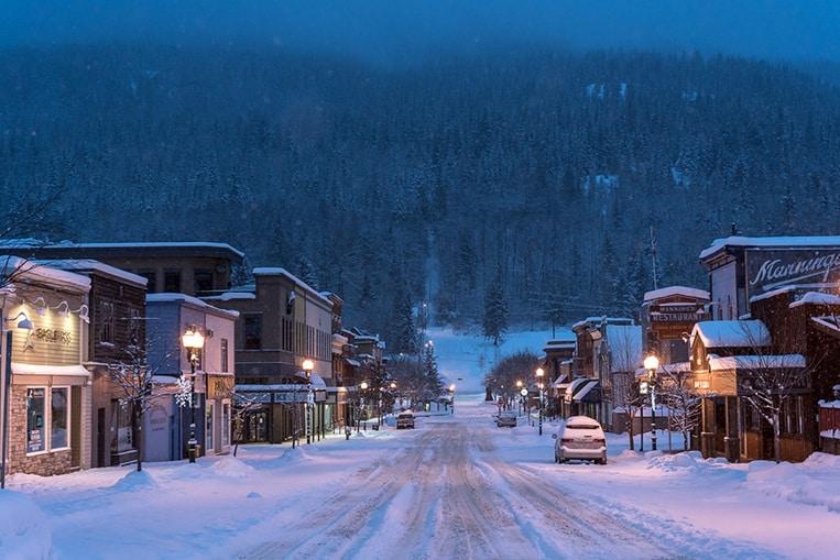 Station de ski de Revelstoke, Canada