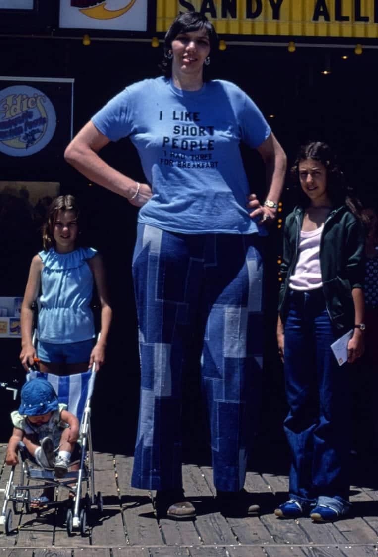 Sandy Allen - 231.78cm