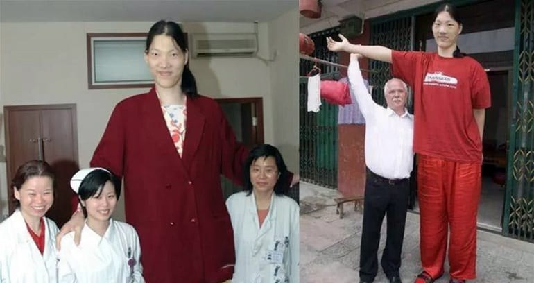Yao Defen - 233.7cm