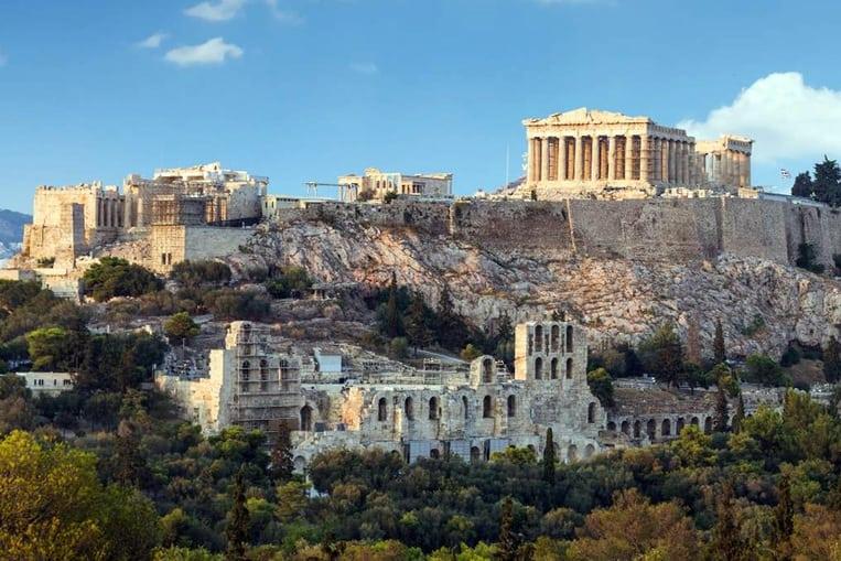 L'Acropole d'Athènes et ses temples