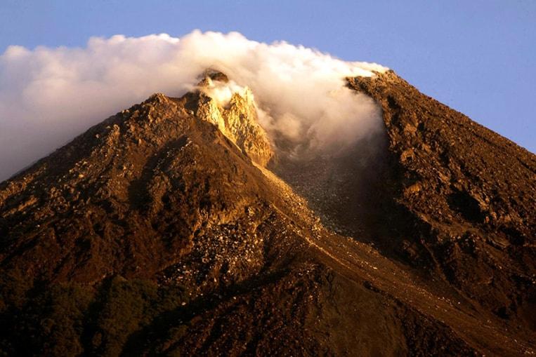 Le Merapi en Indonésie