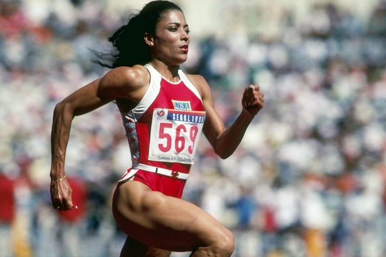Athlétisme: Florence Griffith-Joyner