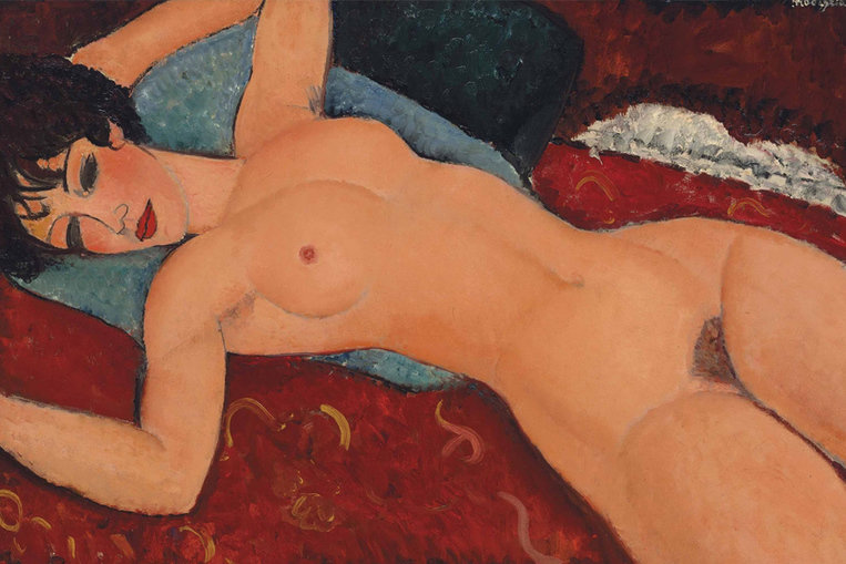 Nu couché d'Amadeo Modigliani